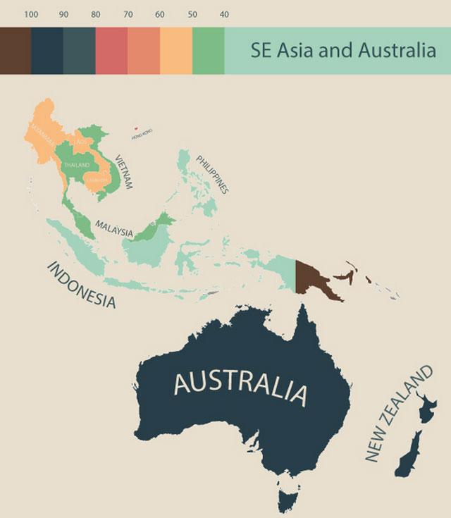 世界の物価:ニュージーランド